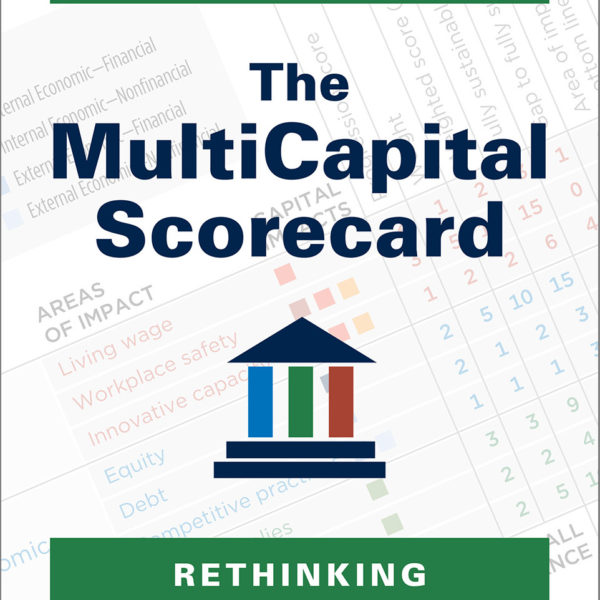 cover of book: the multicapital scorecard